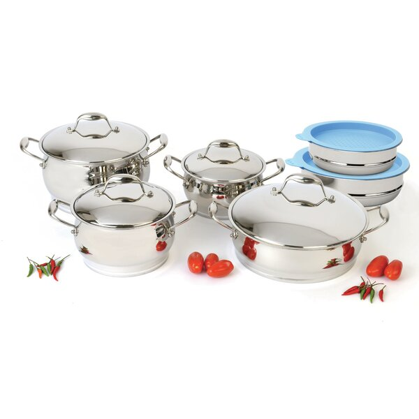 Zeno 12-Piece Cookware Set by BergHOFF International