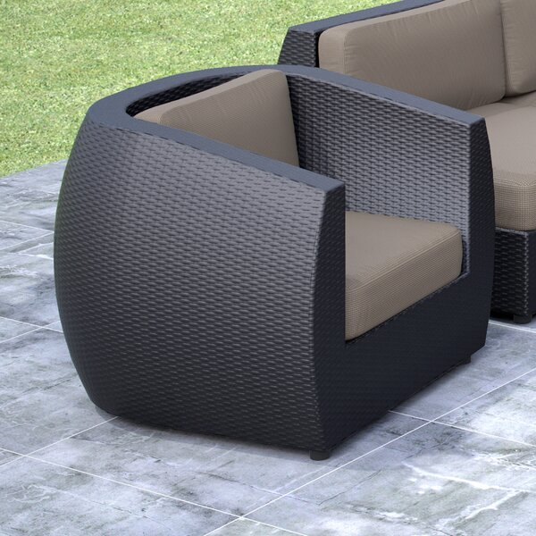 Seattle Lounge Chair with Cushion by dCOR design