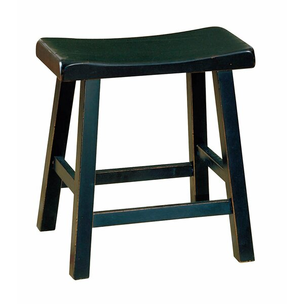 Samira Wooden 18 Bar Stool (Set of 2) by Winston Porter