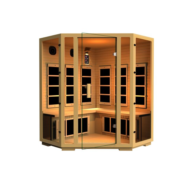 Joyous 4 Person FAR Infrared Sauna by JNH Lifestyles
