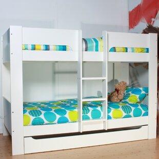 Basixs European Single Standard Bunk Bed By Flexa