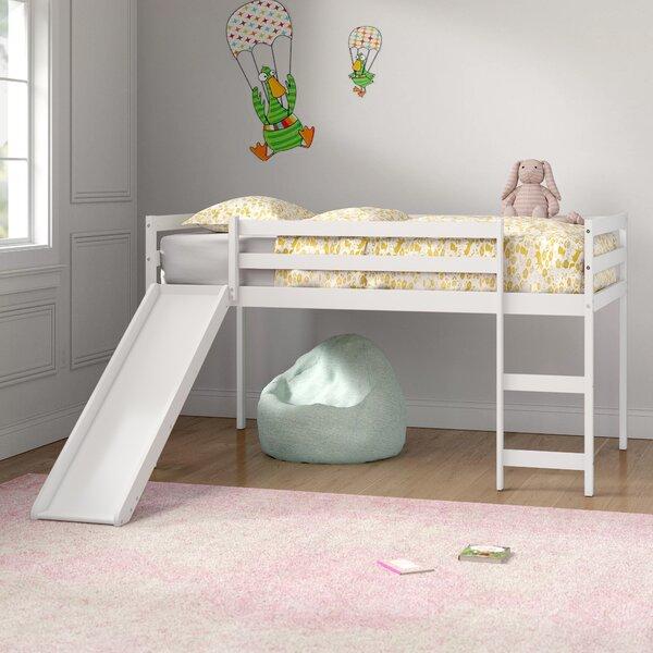 Allain Twin Low Loft Bed by Harriet Bee