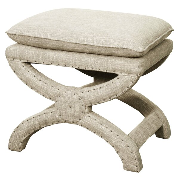 Thorn Upholstered Stool by House of Hampton