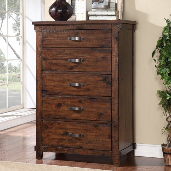 Camas 5 Drawer Chest by Loon Peak
