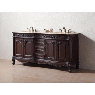 bathroom cabinets double sink. Save  DCOR Design Bourne 72 Double Bathroom Vanity Set Vanities You Ll Love Wayfair