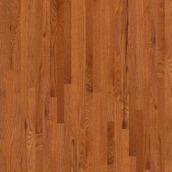 3-1/4 Solid Oak Hardwood Flooring in Gunstock by Welles Hardwood