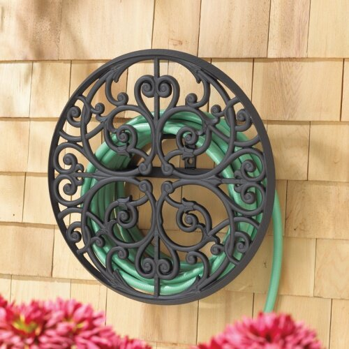 Aluminum Wall Mounted Hose Holder by Whitehall Products