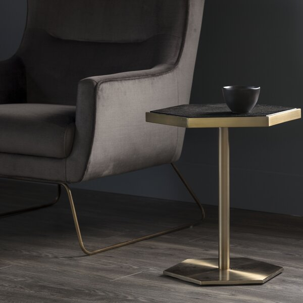 Doney End Table by Everly Quinn