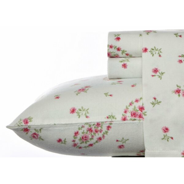 Bristol Paisley Flannel Sheet Set by Laura Ashley Home by Laura Ashley Home