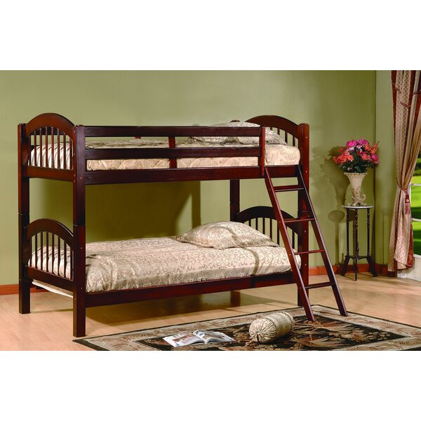 Jaren Twin over Twin Bunk Bed by Harriet Bee