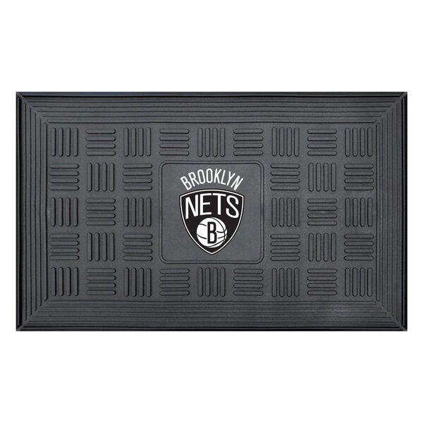 NBA - Brooklyn Nets Medallion Doormat by FANMATS