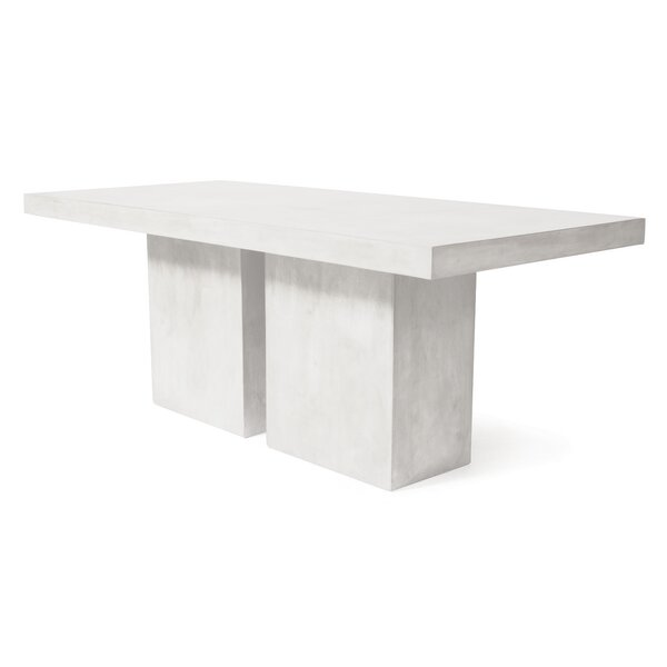 Perpetual Loire Concrete Dining Table by Seasonal Living