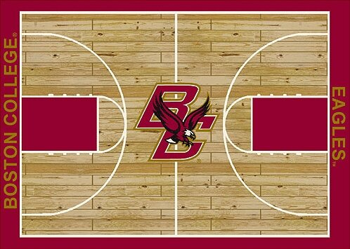 NCAA College Home Court Boston College Novelty Rug by My Team by Milliken