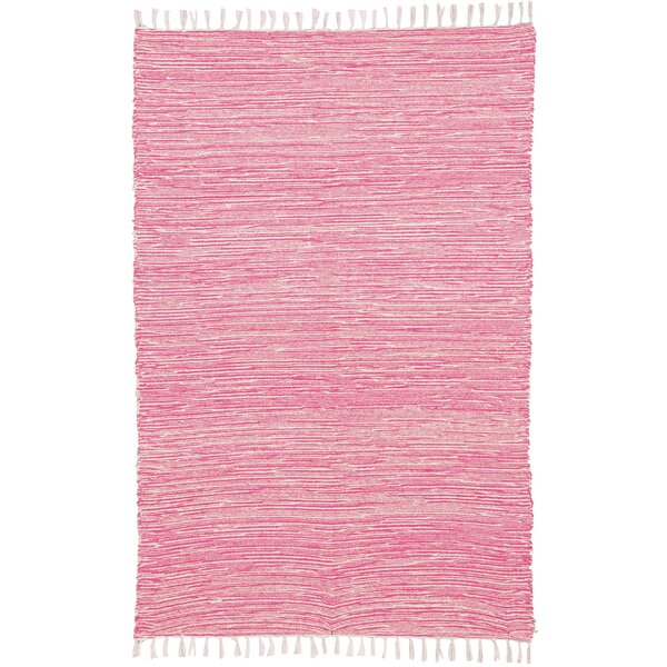 Bruges Hand Woven Pink Area Rug by Bungalow Rose| @ $87.04