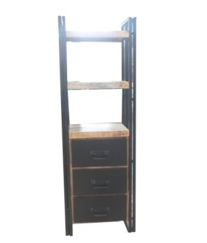 Heller Handcrafted Etagere Bookcase by Loon Peak