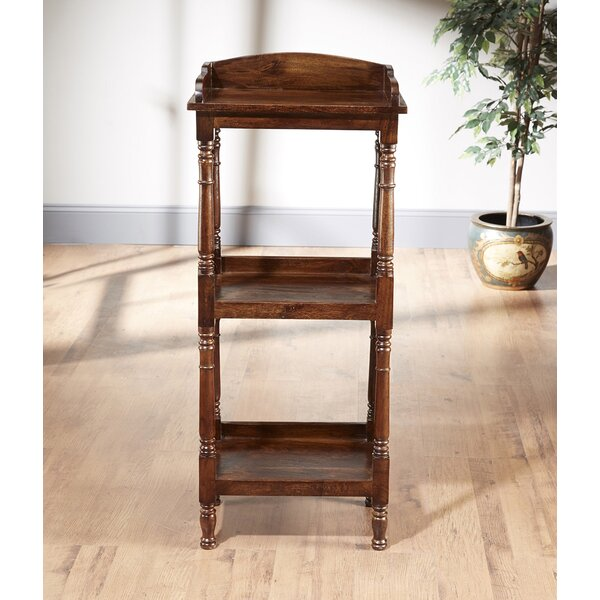 Shaws Etagere Bookcase by Charlton Home