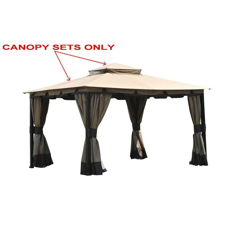 Replacement Canopy For Monterey Gazebo
