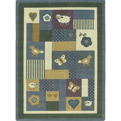 Light Blue Area Rug by The Conestoga Trading Co.