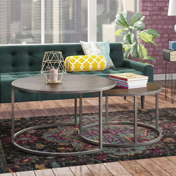 Swiney 2 Piece Coffee Table Set by Williston Forge