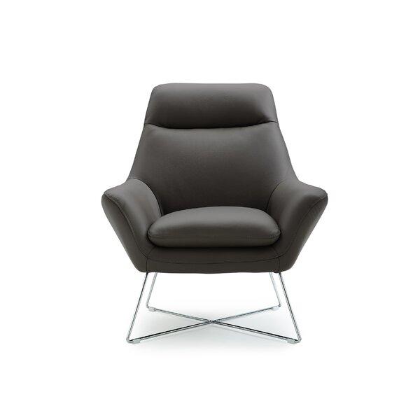 Carman Upholstered Armchair by Orren Ellis