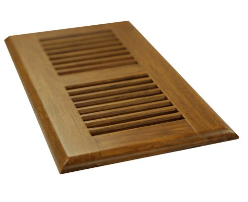 4 x 12 Moso Bamboo Vent Cover by Islander Flooring