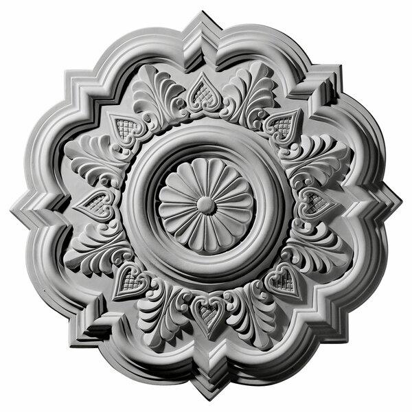 Deria 20 1/4H x 20 1/4W x 1 1/2D Ceiling Medallion by Ekena Millwork