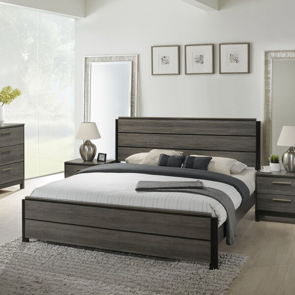 Mandy Standard Bed by Gracie Oaks