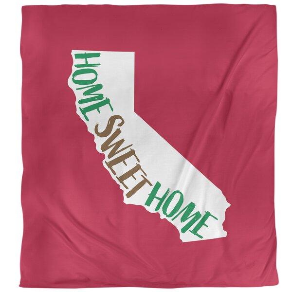 Home Sweet California Single Duvet Cover