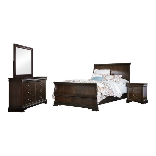 Hebden Sleigh Configurable Bedroom Set by Charlton Home