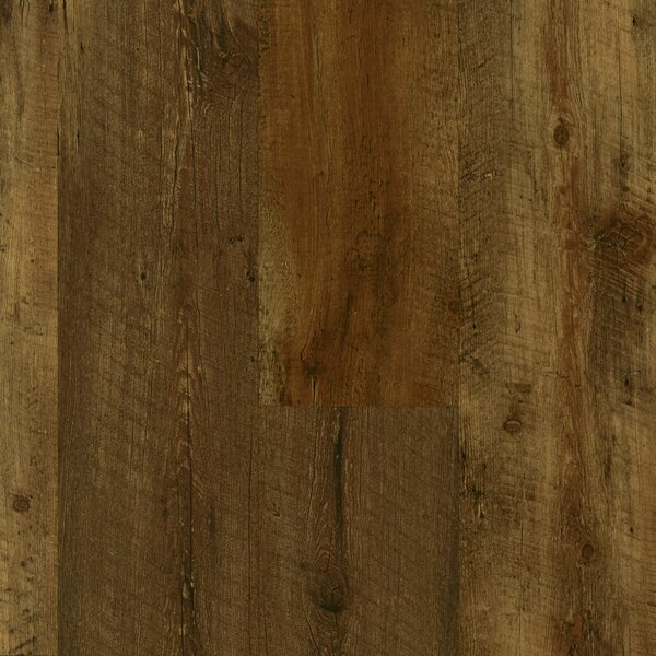 Luxe Fastak Farmhouse 7 x 48 x 4.06mm Oak Luxury Vinyl Plank in Rugged Brown by Armstrong Flooring