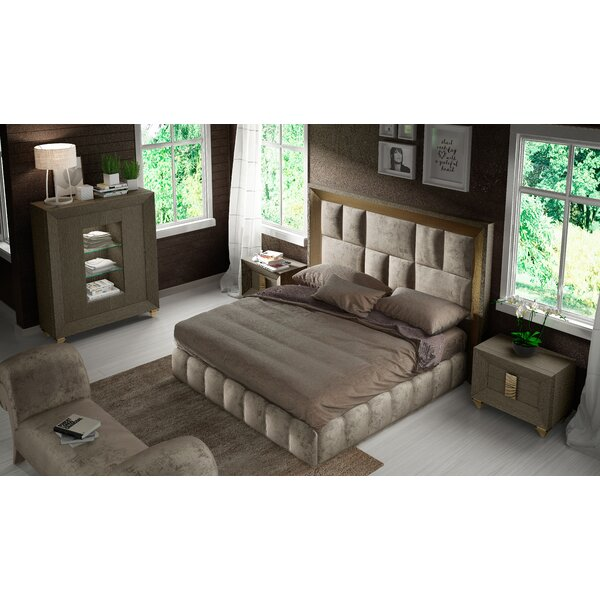Jerri 4 Piece Standard Bedroom Set by Everly Quinn