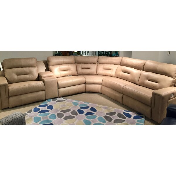 Excel Reversible Reclining Sectional by Southern Motion