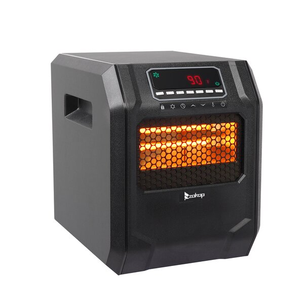 1,500 Watt Electric Infrared Cabinet Heater By Zimtown