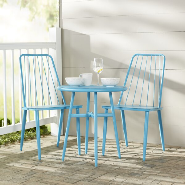 Stella 3 Piece Bistro Dining Set By Novogratz