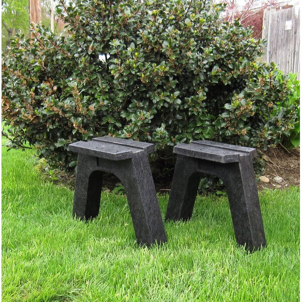 Chaney Recycled Plastic Garden Bench (Set of 2) by Millwood Pines