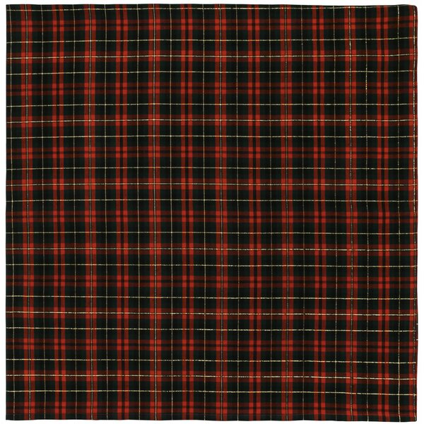 Delray Plaid with Lurex Tablecloth by Darby Home Co