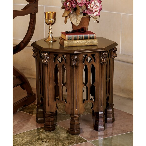 Gothic Revival End Table by Design Toscano