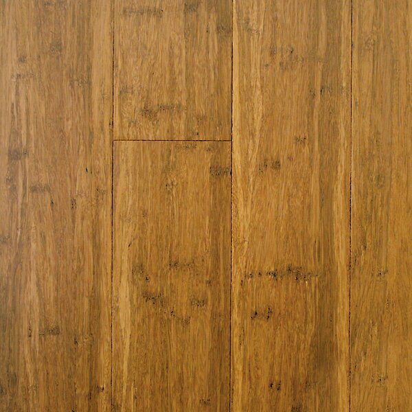 4-3/4 Engineered Strandwoven Bamboo Flooring in Light Carbonized by ECOfusion Flooring