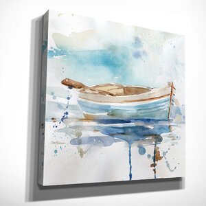 'Malibu Marina I' by Carol Robinson Painting Print on Wrapped Canvas by Wexford Home