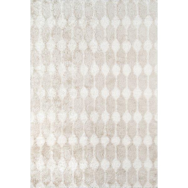 Retro Hand-Tufted Taupe Area Rug by Novogratz By Momeni