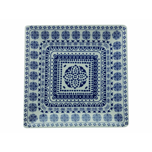 Blue Antico Square Platter by Maxwell & Williams