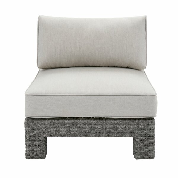 Elamin Patio Chair with Cushions by Highland Dunes