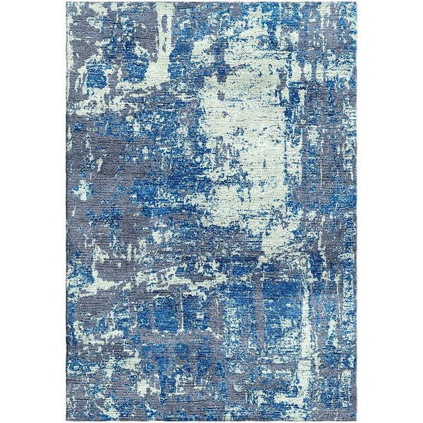 Ashford Handloom Blue/Green Area Rug by Ivy Bronx