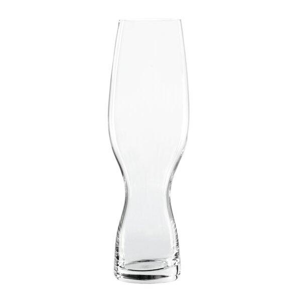 Pilsner 12.8 oz Glass Pint Glass (Set of 4) by Spiegelau