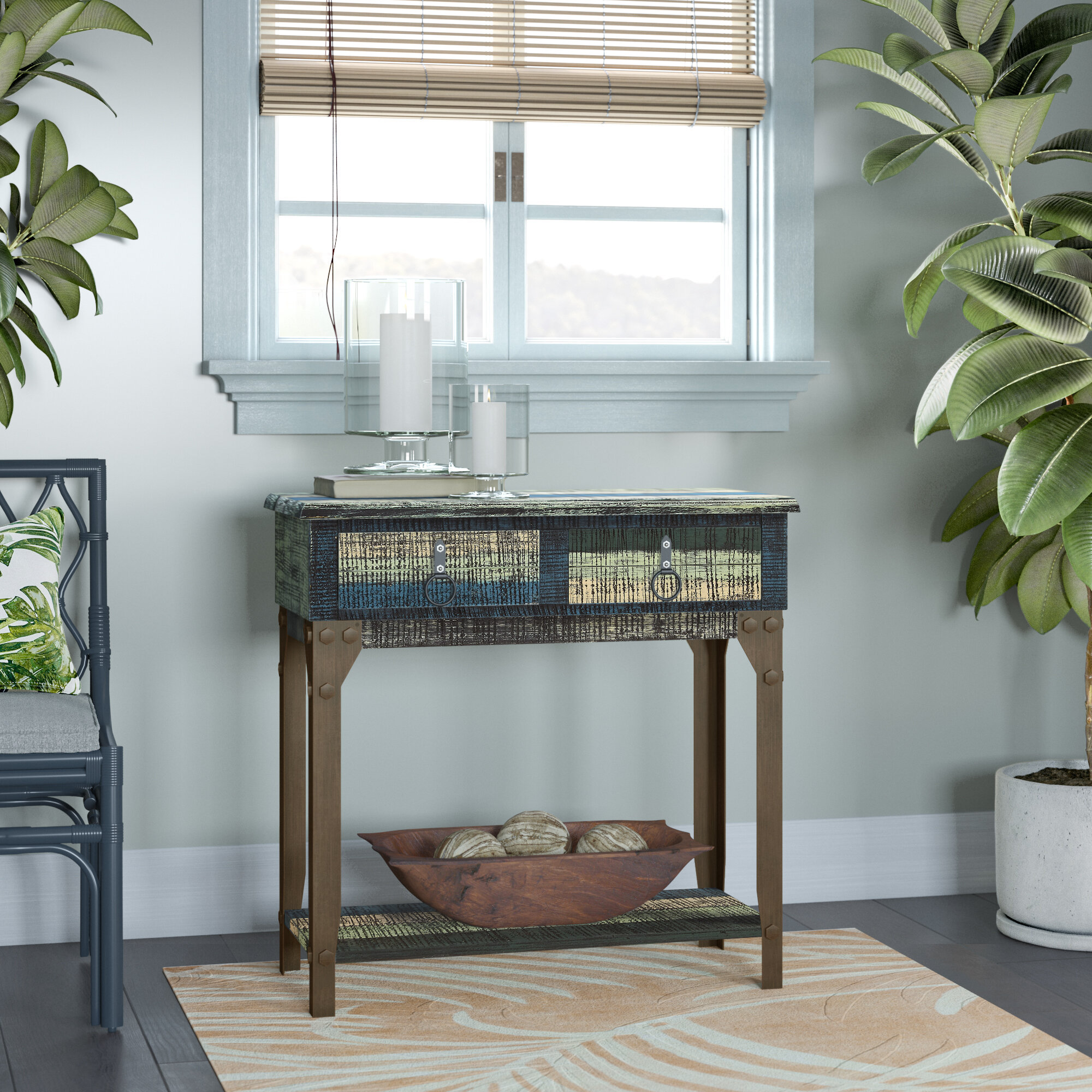 Console Table Under Window The Arts