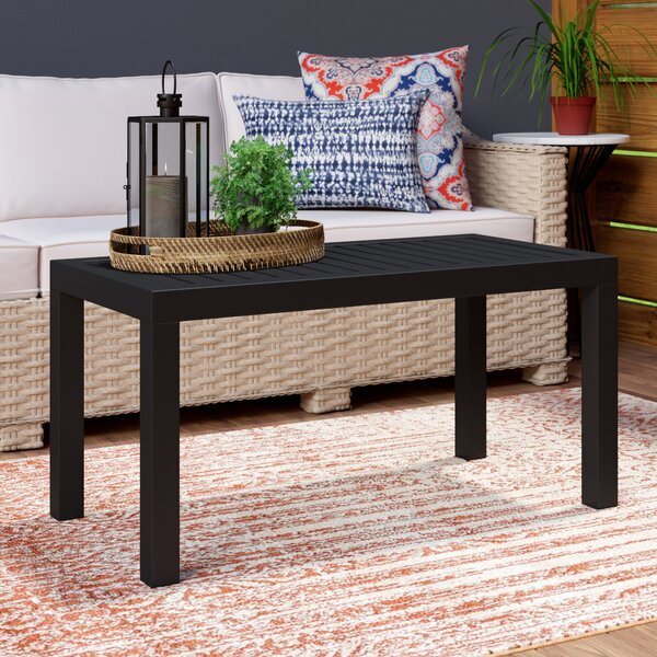 Melissus Plastic/Resin Coffee Table by Mercury Row