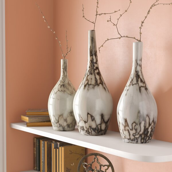 Bud 3 Piece Floor Vase Set by Mistana