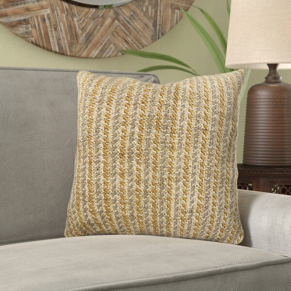 Reider Woven Luxury Pillow by Bungalow Rose