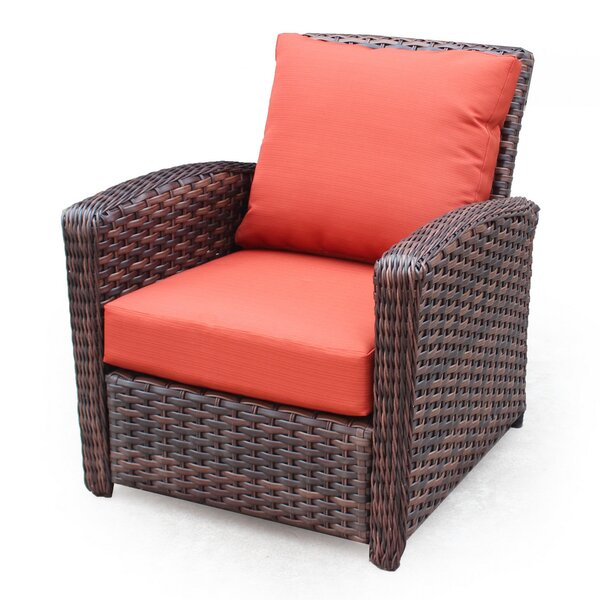 Remmers Deep Seating Chair with Cushion by Bloomsbury Market
