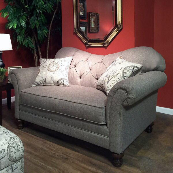 Special Orders Emmeline Loveseat by One Allium Way by One Allium Way